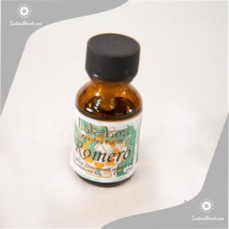 Aceite de romero puro en envase de 10 cc